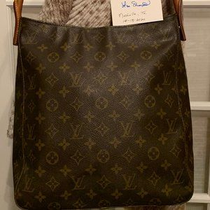 Authentic Louis Vuitton Looping GM Purse